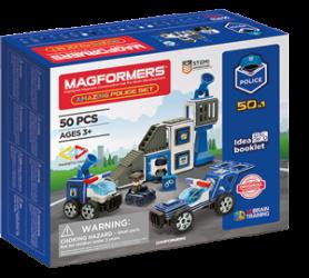Magformers Secția De Poliție Box (Small)
