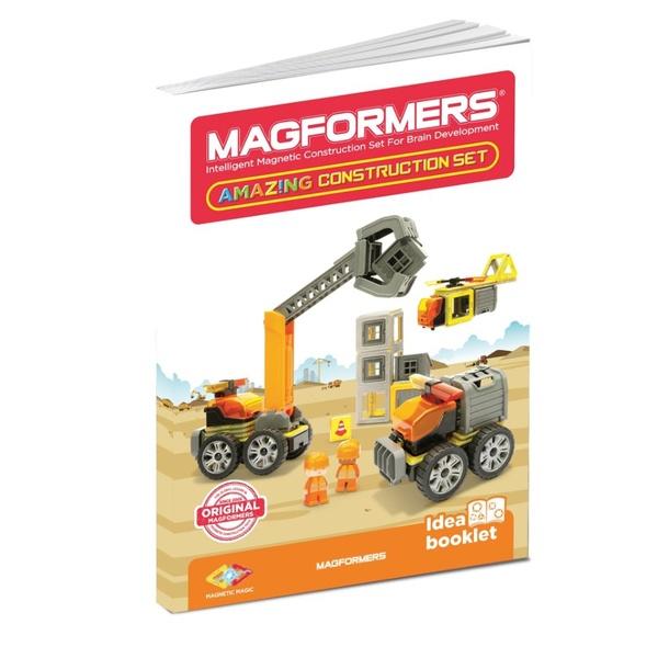 Carte Idei De Construcții 50 Piese Magnetice