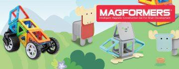 Construiți aventuri cu seturile magnetice Magformers