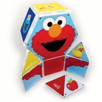 CreateOn Magna-Tiles Elmo Sesame Street - 17 Piese Magnetice