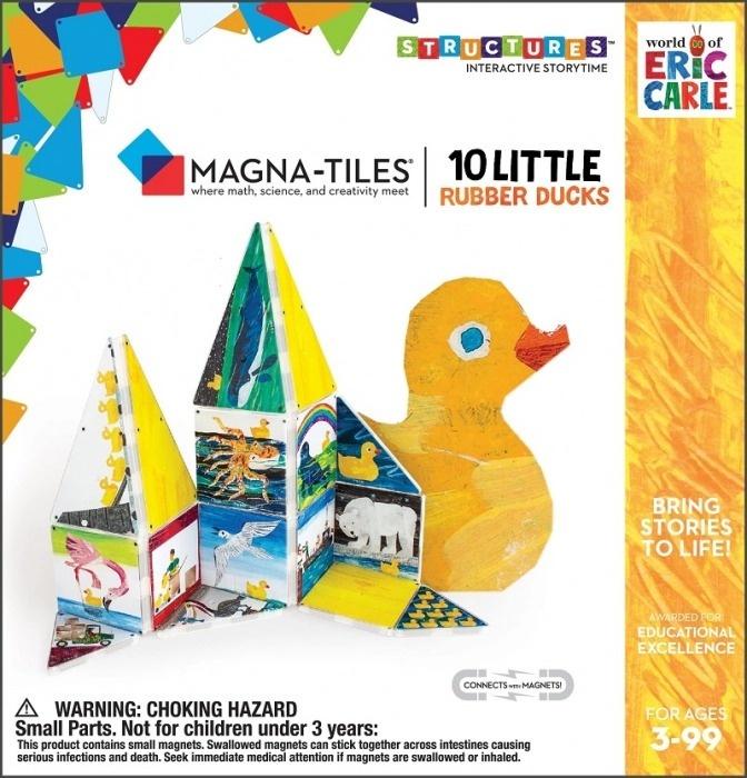 CreateOn Magna-Tiles Set De Constructie Magnetic 10 Piese (4)