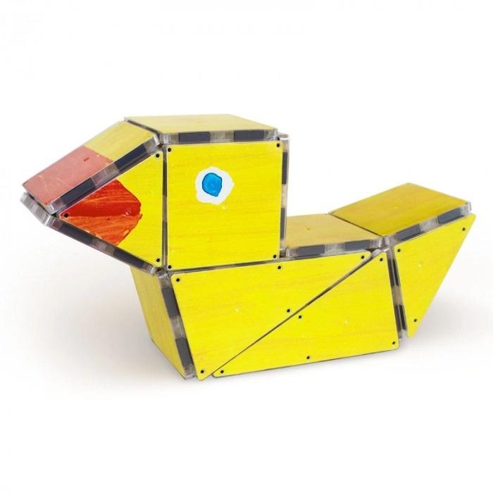 "Joc Magnetic Magna-Tiles ""10 Rățuște De Cauciuc"""