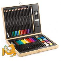 Cutie Set De Colorat Pentru Copii Djeco