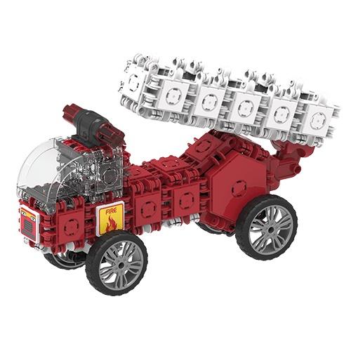 Fire-ladder-truck