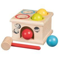 Joc Cu Bile Și Ciocan Din Lemn - Casa Șoriceilor