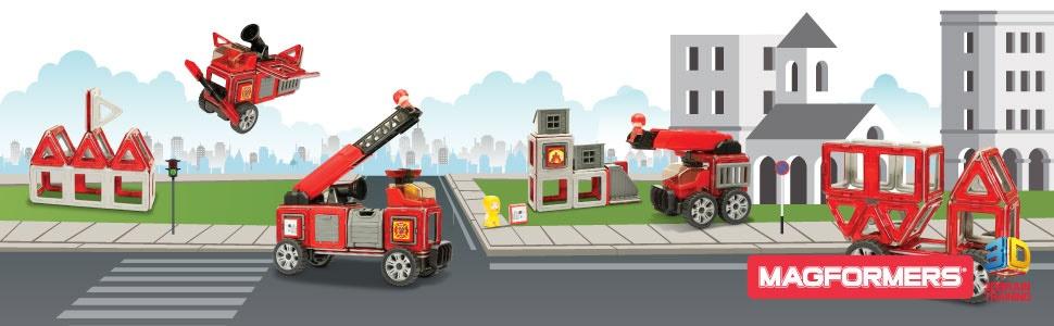 Magformers-Pompieri