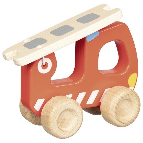 Mașină De Pompieri Din Lemn – Joc De Rol 1
