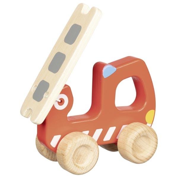 Mașină De Pompieri Din Lemn – Joc De Rol 4