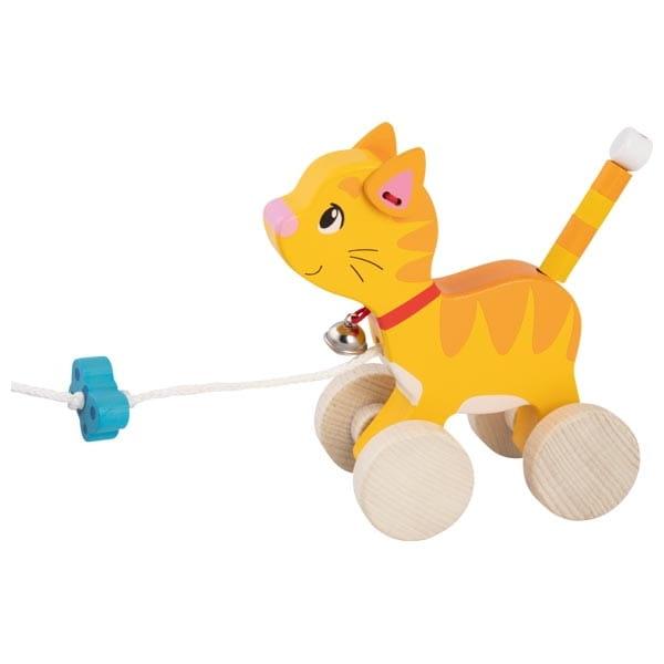 Pisicuță Din Lemn – Jucărie De Tras 2