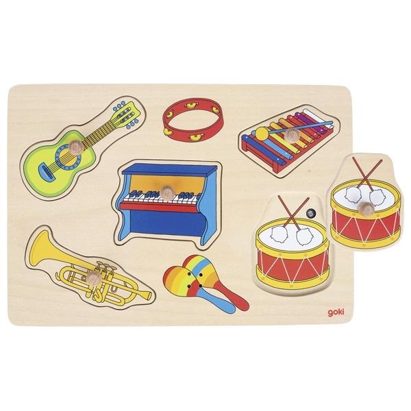 Puzzle Sonor – Instrumente Muzicale