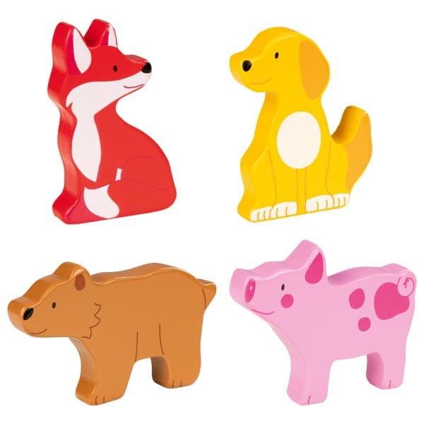 Puzzle Cu Animale Din Lemn – Joc De Îndemânare Pentru Bebeluși 4