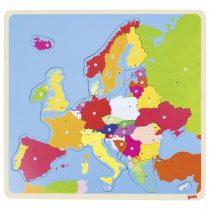 Puzzle Din Lemn - Harta Europei