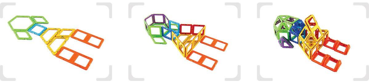 Set Magneti Magformers 2D 3D