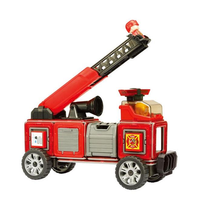 Set Magnetic Magformers – Mașină Pompieri (2)