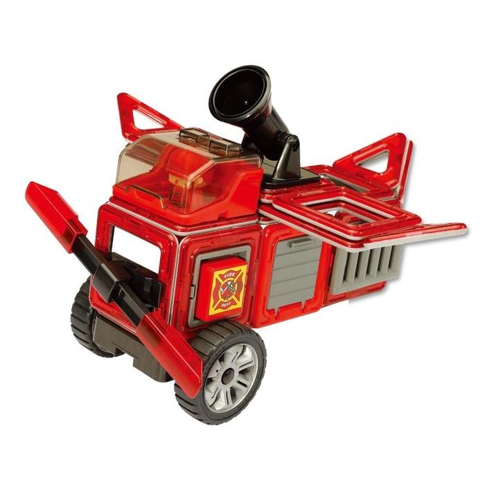 Set Magnetic Magformers – Mașină Pompieri (3)