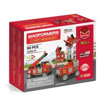Set Magnetic Magformers Vehicule Intervenție