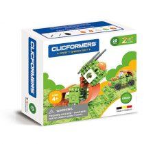 Set Magnetic Verde Clicformers (25 De Piese)