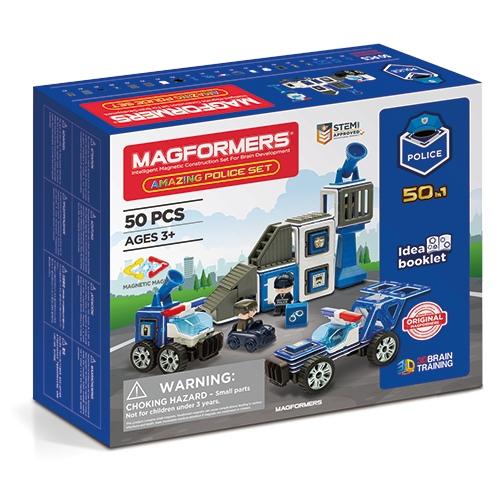 Set Magnetic Magformers – Uimitorul Set De Poliție