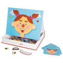 Fetița Cu Fețe Nostime - Joc Magnetic