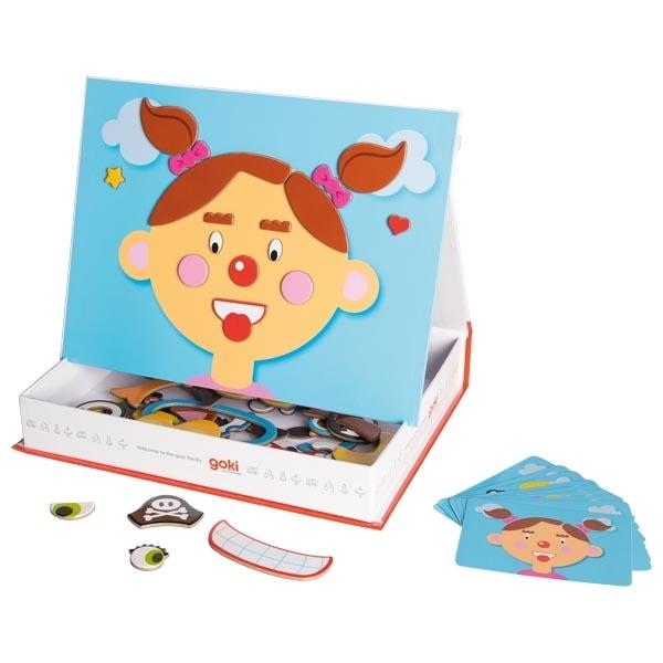 Fetița Cu Fețe Nostime – Joc Magnetic