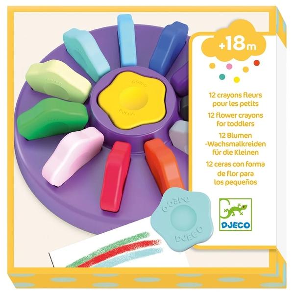 Set 12 Creioane Din Ceară Pentru Copii