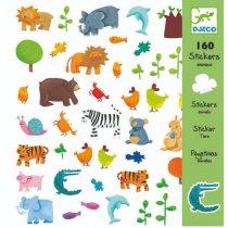 Abțibilduri Animale (160 Piese)