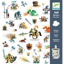 Abțibilduri Cavaleri (160 Stickere )