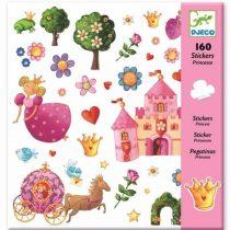 Abțibilduri Cu Prințesa (160 Piese)