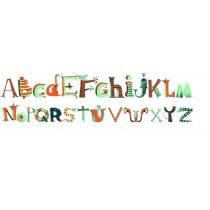 Abțibilduri De Perete - Litere Alfabet (112 Piese)