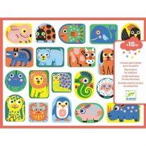 Abțibilduri Moi - Primele Animale (120 Stickere)