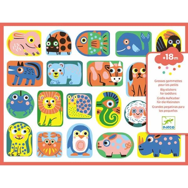 Abțibilduri Moi – Primele Animale (120 Stickere)