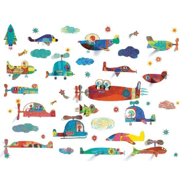 Abțibilduri Pentru Fereastă – Vehicule Zburătoare (44 Piese).jpg1.jpg1