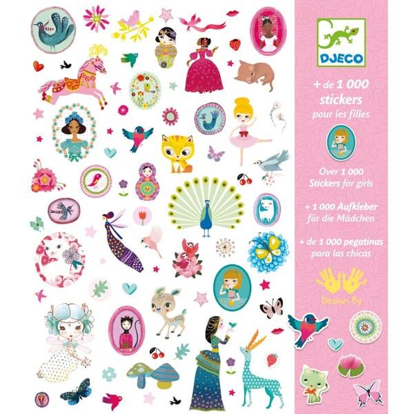 Abțibilduri Pentru Fete – 1000 Stickere