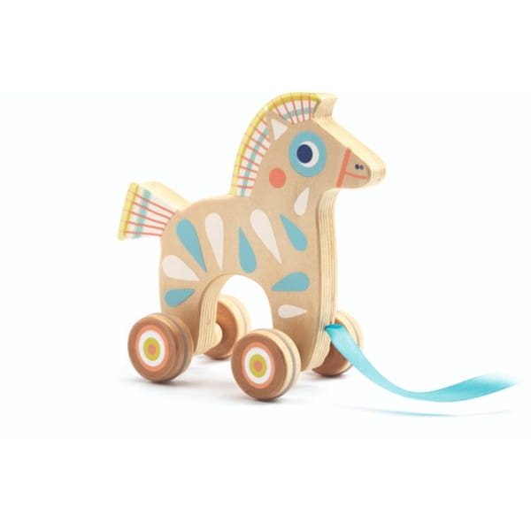 Căluț Din Lemn – Jucărie De Tras