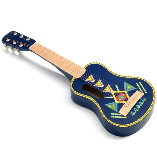 Chitară Din Lemn Djeco Pentru Copii