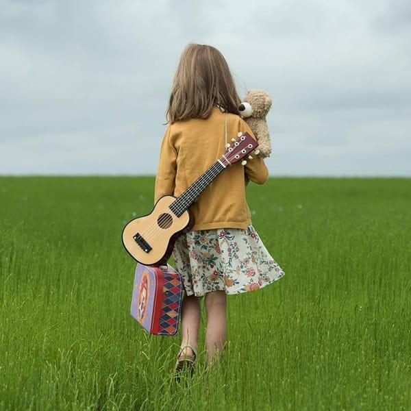 Chitară Din Lemn Pentru Copii