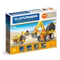 Clicformers Joc Magnetic De Construit 74 Piese (box)