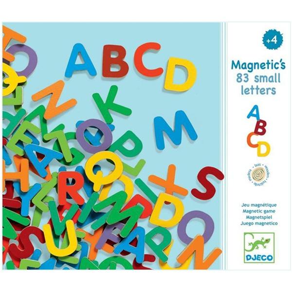 Alfabet Litere Mari Magnetice (83 De Litere)