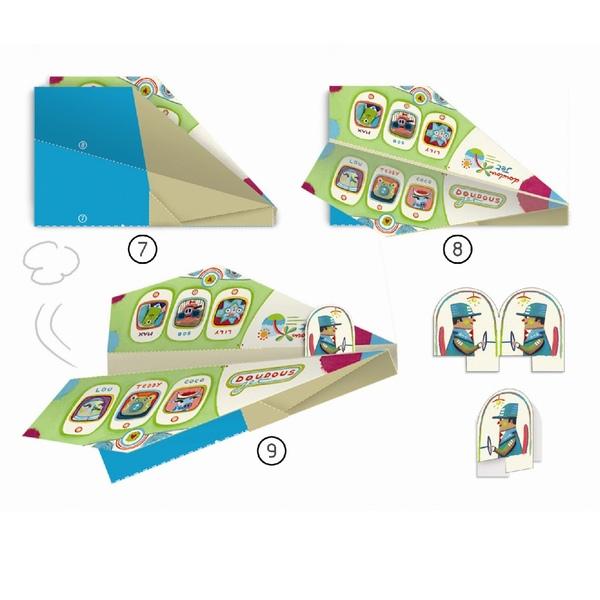 Djeco Origami Avioane Din Hartie
