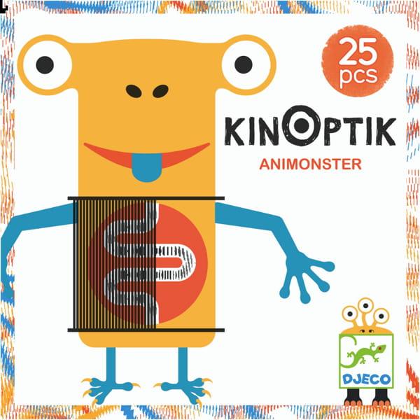 """Joc De Construit Pentru Copii """"Animonsters Kinoptik"""""""