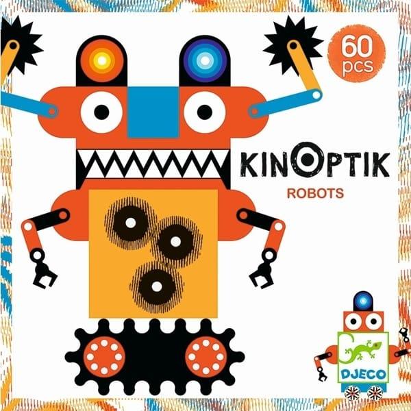 """Joc De Construit Pentru Copii """"Roboții Kinoptik"""""""