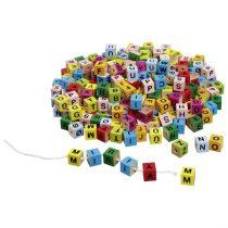 Joc De Înșiruit Cu Litere - Alfabet Din Lemn