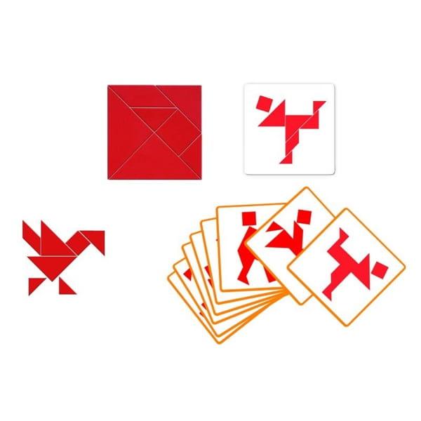 Joc De Logică Pentru Copii Tangram3
