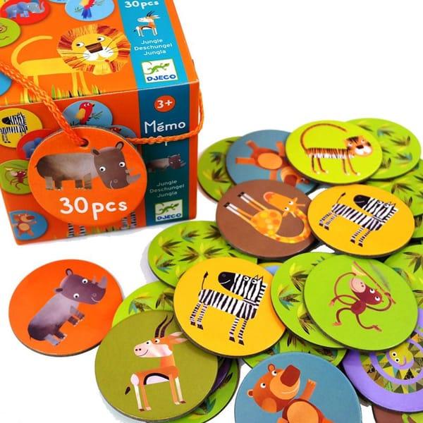Joc De Memorie Animalele Din Junglă.2
