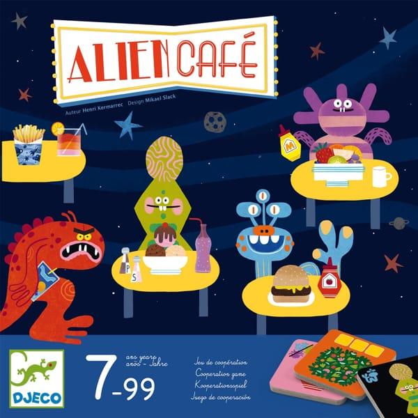 """Joc De Strategie """"Alien Café"""""""