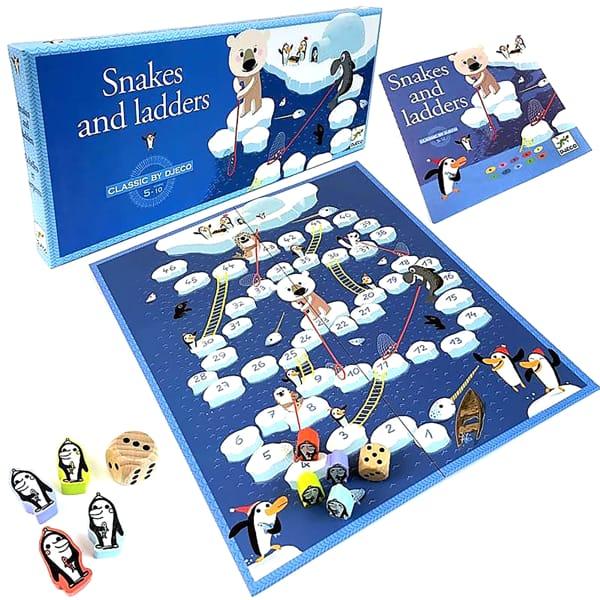 Joc De Strategie Pinguini Pe Gheață Pentru Copii