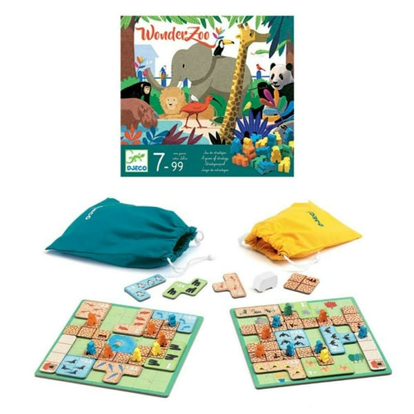 Joc De Strategie Wonderzoo Pentru copii. 1