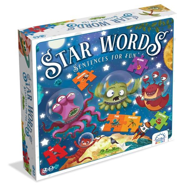 "Joc Educativ ""Smarty Puzzle- Star Words"""