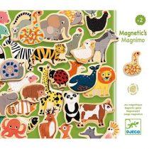 Joc Magnetic Cu Animale Pentru Copii