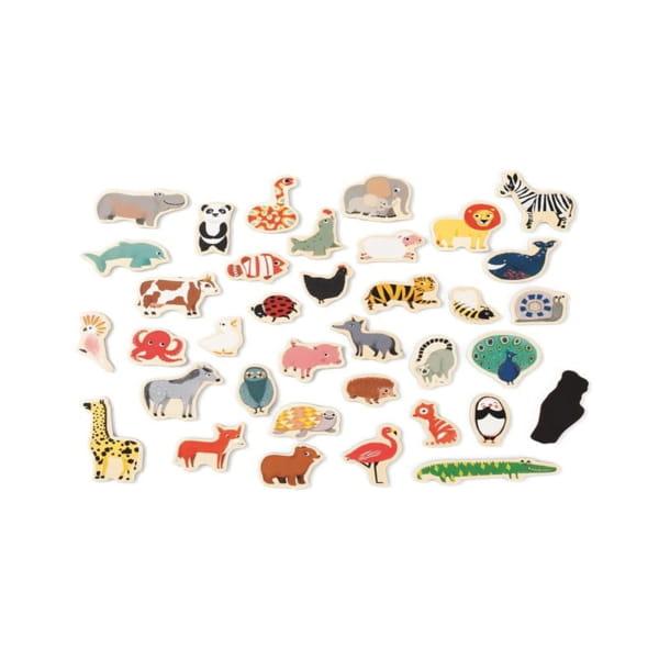 Joc Magnetic Cu Animale Pentru Copii1